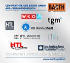 CSR-Partner der BARTH GMBH   Aus-/Bildungsbereich