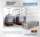 Foto: Straßenbahn ULF – Floridsdorf © Wiener Linien | Brenneis / Foto: Brems-Widerstand 3PQ4 © GINO AG