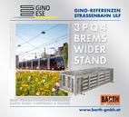 Foto: Straßenbahn ULF – Hütteldorf © Wiener Linien | Helmer / Foto: Brems-Widerstand 3PQ4 © GINO AG