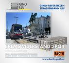 Foto: Straßenbahn ULF – Schwarzenbergplatz © Wiener Linien | Zinner / Foto: Brems-Widerstand 3PQ4 © GINO AG