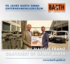 BV Marcus FRANZ gratuliert GF Georg BARTH