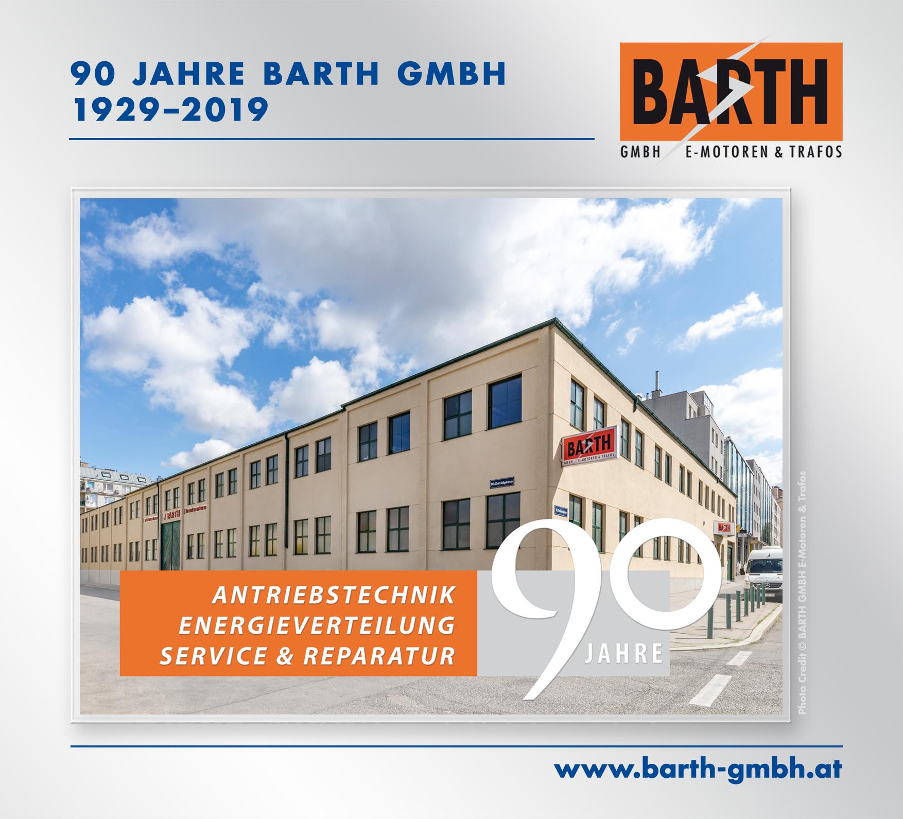 90 Jahre BARTH GMBH