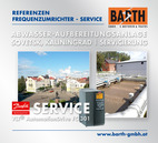 Servicierung Abwasseraufbereitungsanlage Sovetsk