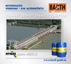Kraftwerk Altenwörth | Transformatoren-Isolieröl<br />Fotos © VERBUND AG | BARTH GMBH