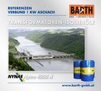 KW Aschach | Transformatoren-Isolieröl<br />Fotos © VERBUND AG | BARTH GMBH