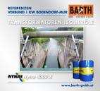 KW Bodendorf-Mur | Transformatoren-Isolieröl<br />Fotos © VERBUND AG | BARTH GMBH
