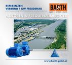 Kraftwerk Freudenau | Powerdrive-Motoren<br />Fotos © VERBUND AG | BARTH GMBH