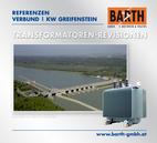 Kraftwerk Greifenstein | Transformatoren-Revisionen<br />Fotos © VERBUND AG | BARTH GMBH