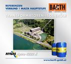 Kraftwerk Malta Hauptstufe | Transformatoren-Isolieröl<br />Fotos © VERBUND AG | BARTH GMBH