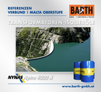 Kraftwerk Malta Oberstufe | Transformatoren-Isolieröl<br />Fotos © VERBUND AG | BARTH GMBH