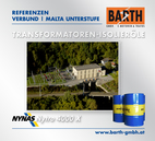 Kraftwerk Malta Unterstufe | Transformatoren-Isolieröl<br />Fotos © VERBUND AG | BARTH GMBH