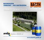 KW Mayrhofen | Transformatoren-Isolieröl<br />Fotos © VERBUND AG | BARTH GMBH