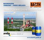 FHKW Mellach | Transformatoren-Isolieröl<br />Fotos © VERBUND AG | BARTH GMBH