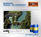 KW Wallnerau-Schwarzach | Transformatoren-Isolieröl<br />Fotos © VERBUND AG | BARTH GMBH