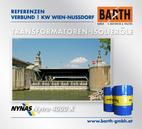 KW Wien-Nussdorf | Transformatoren-Isolieröl<br />Fotos © VERBUND AG | BARTH GMBH
