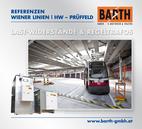 Foto: Hauptwerkstätte Simmering © Wiener Linien | Jantzen / Foto: Last-Widerstand (GINO AG) © BARTH GMBH E-Motoren & Trafos